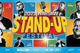 Warszawa Wydarzenie Stand-up Warsaw Stand-up Festival 2021 / Stadion Miejski