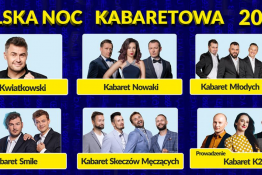 Sopot Wydarzenie Kabaret Polska Noc Kabaretowa 2021/ Sopot