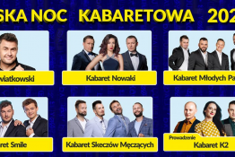 Kalisz Wydarzenie Kabaret Polska Noc Kabaretowa/ Kalisz