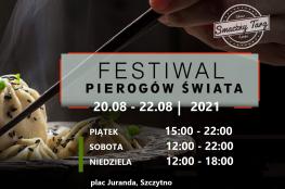 Szczytno Wydarzenie Festiwal Festiwal Pierogów Świata w Szczytnie 20-22.08.2021