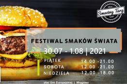 Mrągowo Wydarzenie Festiwal Festiwal Smaków Świata w Mrągowie 30.07-01.08