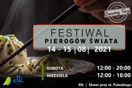 Ełk Wydarzenie Festiwal Festiwal Pierogów Świata w Ełku 14-15.08.2021
