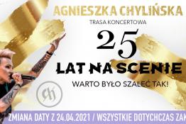 """Kraków Wydarzenie Koncert Agnieszka Chylińska """"Warto było szaleć tak!"""""""
