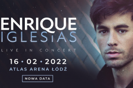 Łódź Wydarzenie Koncert Enrique Iglesias - Live in Concert / Łódź