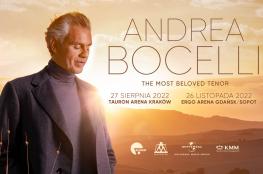 Kraków Wydarzenie Koncert Andrea Bocelli / Arena Kraków