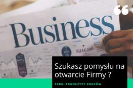 Kraków Wydarzenie Targi Targi franczyzy Kraków - znajdź pomysł na biznes