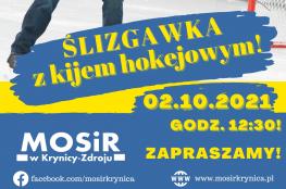 Krynica-Zdrój Wydarzenie Rozrywka Ślizgawka z kijem hokejowym w Hali MOSiR