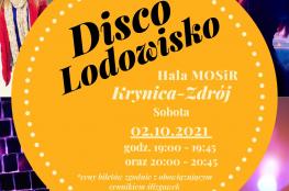 Krynica-Zdrój Wydarzenie Rozrywka Disco Lodowisko w Hali MOSiR