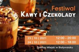 Białystok Wydarzenie Festiwal Festiwal Kawy i Czekolady w Białymstoku 23-24.10