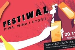 Poznań Wydarzenie Festiwal Festiwal Piwa, Wina i Cydru