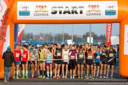 Gdańsk Wydarzenie Bieg AmberExpo Półmaraton Gdańsk