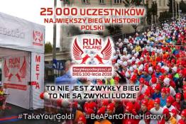 Poznań Wydarzenie Bieg Run Poland 2019. Bieg Niepodległości.