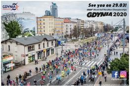Gdynia Wydarzenie Bieg Mistrzostwa Świata w Półmaratonie - Gdynia 2020