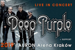 Kraków Wydarzenie Koncert Deep Purple w Tauron Arenie Kraków!