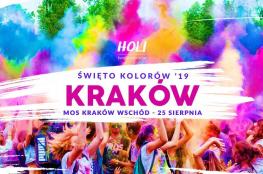 Kraków Wydarzenie Festiwal Holi Święto Kolorów