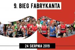 Łódź Wydarzenie Bieg 9. Bieg Fabrykanta