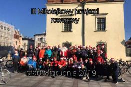 Tarnów Wydarzenie Zawody rowerowe III Mikołajkowy Przejazd Rowerowy