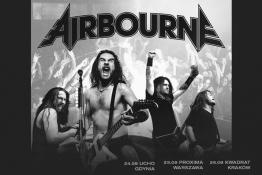 Warszawa Wydarzenie Koncert Airbourne: 25.09.2019 Warszawa, Proxima