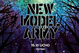Gdynia Wydarzenie Koncert New Model Army: 15.10.2019 Gdynia, Ucho