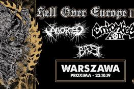 Warszawa Wydarzenie Koncert Aborted + Entombed A.D, Baest / 23.10 / Warszawa