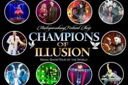 Bydgoszcz Wydarzenie Festiwal Międz. Festiwal Iluzjonistów Champions of Illusion