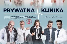 """Łódź Wydarzenie Spektakl """"Prywatna Klinika"""" w Teatrze im. Stefana Jaracza"""