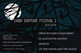 Łódź Wydarzenie Festiwal Dark Rapture Festival II w Klubie Scenografia