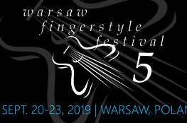Warszawa Wydarzenie Festiwal Warsaw Fingerstyle Festival V - 2019