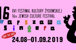 Warszawa Wydarzenie Festiwal XVI Festiwal Kultury Żydowskiej Warszawa Singera
