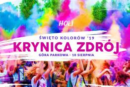 Krynica-Zdrój Wydarzenie Festiwal Holi Festival - Święto Kolorów na Górze Parkowej