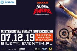 Kraków Wydarzenie Rajd motocyklowy Mistrzostwa Świata SuperEnduro - Kraków 2019